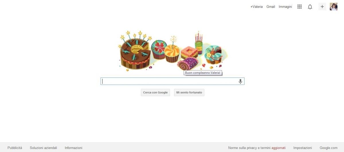 Auguri da Google